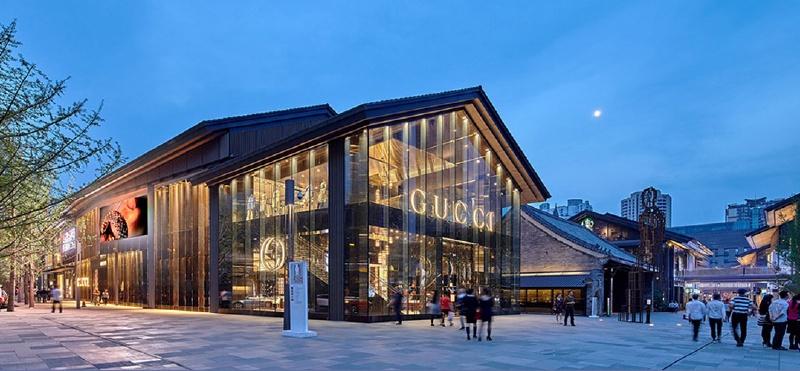 (成都太古里,远洋环艺官网)建筑学的室内设计和地产的室内图片