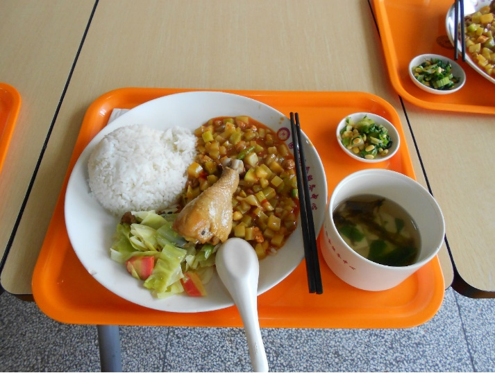 Hangzhou Normal University Canteen Food